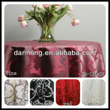DM-1314B 100% Polyester Versailles Damask Table cloth for Hotel