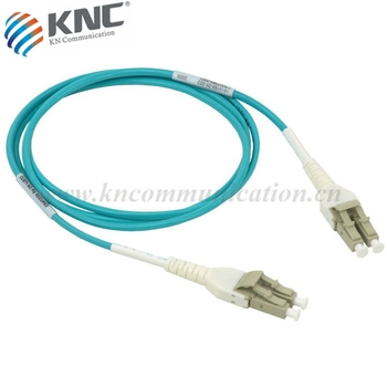 OM3 LC Unitboot Fiber Optic Patch Cords