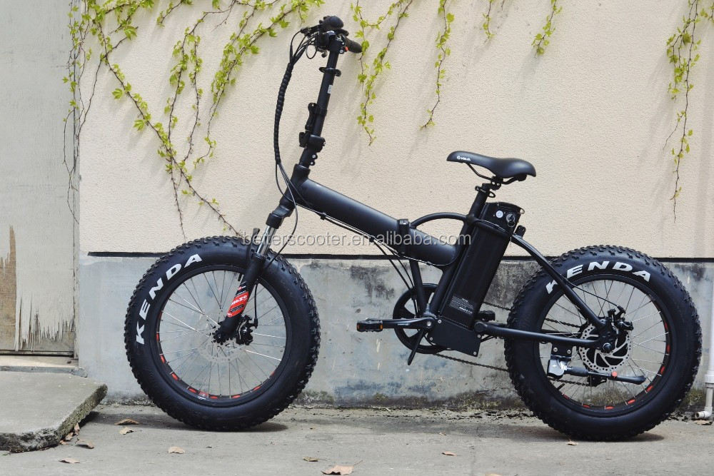 Cheap 350W folding Fat tire ebike, factory provide ebike