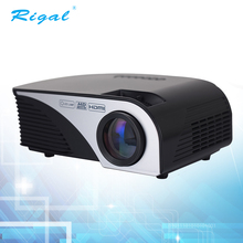 led pico portable projector with usb/hdmi/vga port for video projector