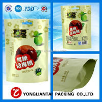 with ziplock,zipper bags Customized Plastic Stand up Bag/Kimchi Packaging Bag