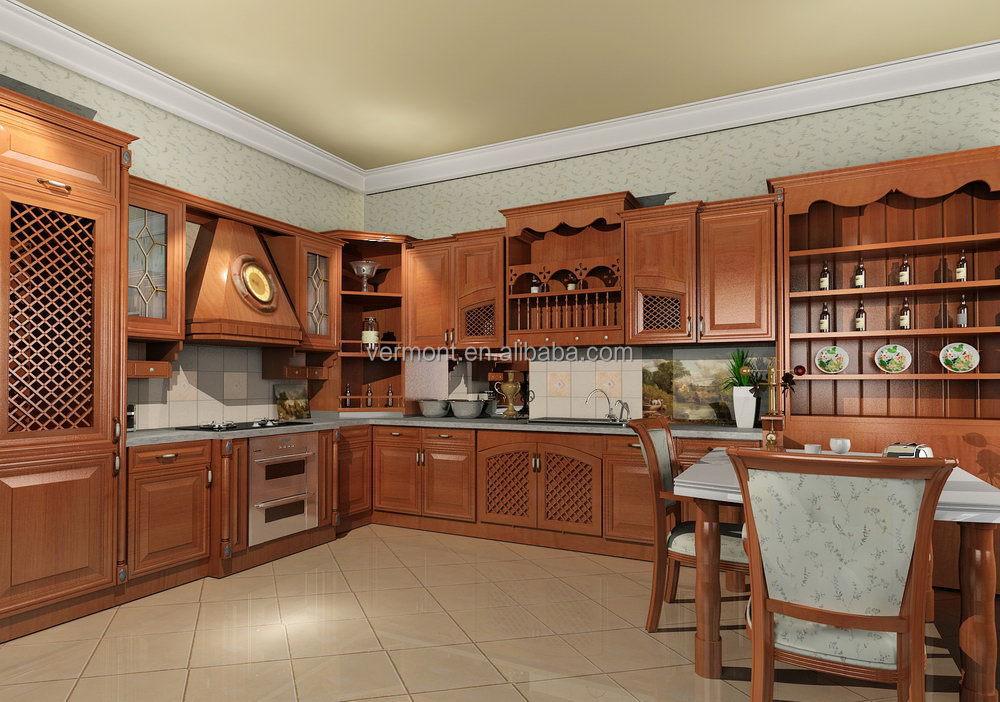 German design unique modern solid wood kitchen cabinets for Solid wood modern kitchen cabinets