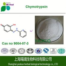 ISO Factory Supply Chymotrypsin, alpha chymotrypsin,trypsin chymotrypsin CAS#9004-07-3