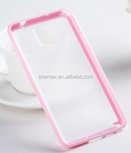 Crystal Clear Durable Skidproof TPU Phone Case for Galaxy Note 3