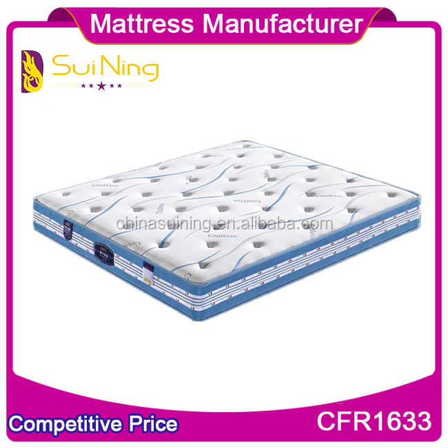 Coolmax Spring baby cot mattress topper 1018-2
