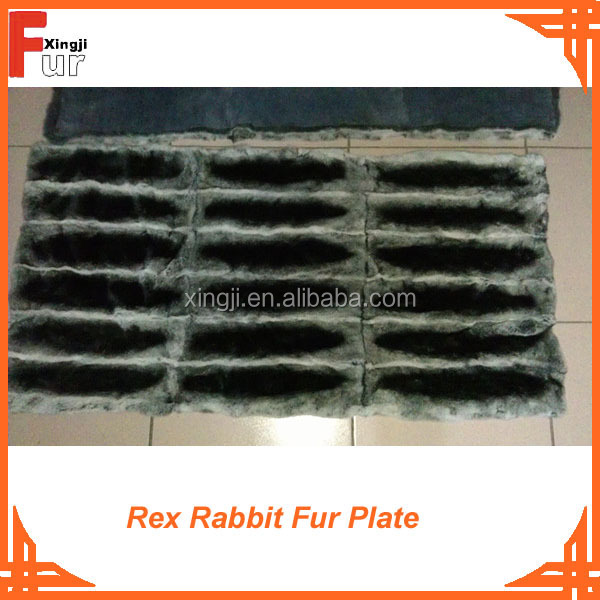 Rex Rabbit Fur Plates