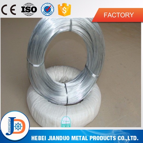 Low price high quality electro galvanized iron wire BWG 20 for construction