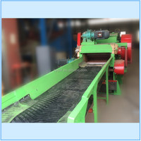 Good quality and low price coconut shell short fiber processing machine