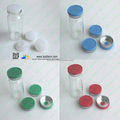 10ml 20mm glass vial aluminium cap seal flip off cap rubber stopper