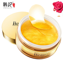 HANKEY Skin Care เกาหลี Hydrogel Eye Patch Anti Aging Anti Wrinkle วงกลม Remover Gold Collagen Hydrogel Eye Mask