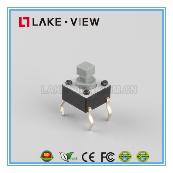 High Quality 6MM Tactile Button Switches for PCB Surface Mounted