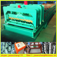 High Speed Metal stone coated roof tile Machine With hydraulic pump