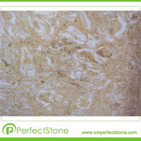 building stone wall cladding white marble powder project floor