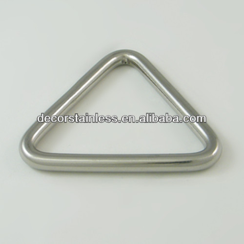 Rigging stainless triangle rings