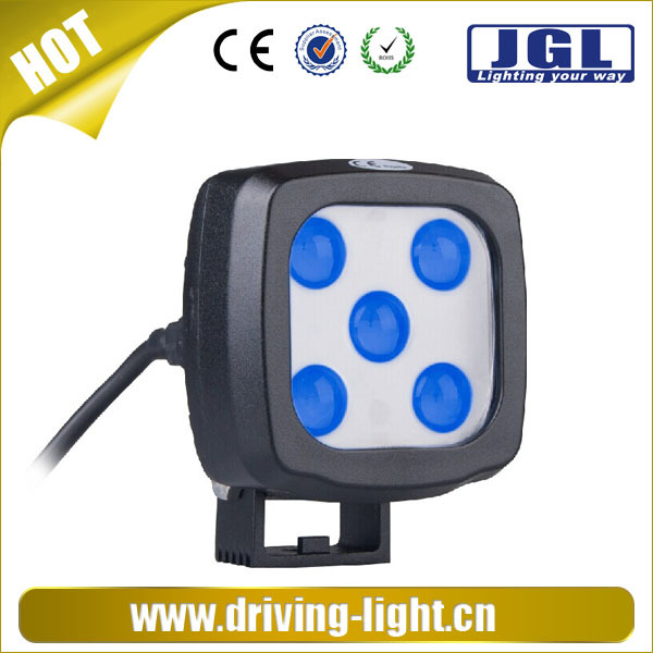 New! 12v LED CREE headlight for forklift led work light15w cree blue led forklift lamp for warning
