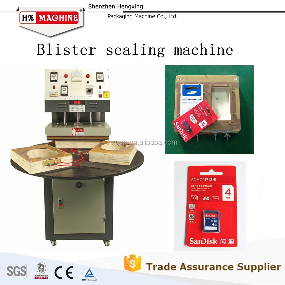 Factory Price, Hot Sale Semi Automatic Paper Card PVC Blister Sealing Packing Machine For Blister LED Lamp Bulb Pckaging