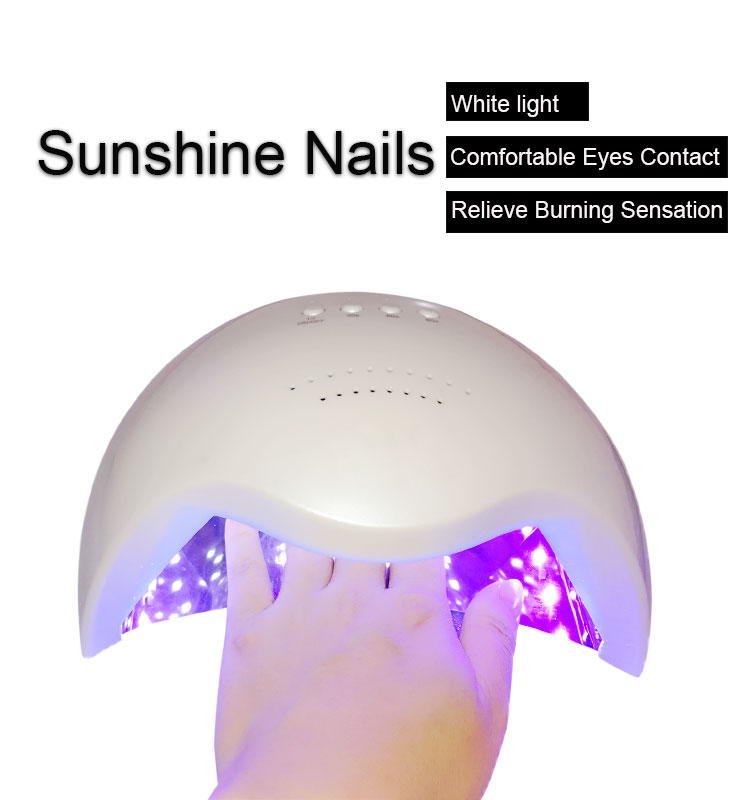 double adjustment sunshine led nail light dryer with fan