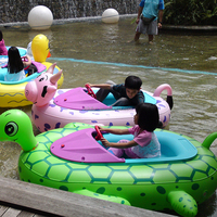 water pool battery operated inflatable bumper boat for kids