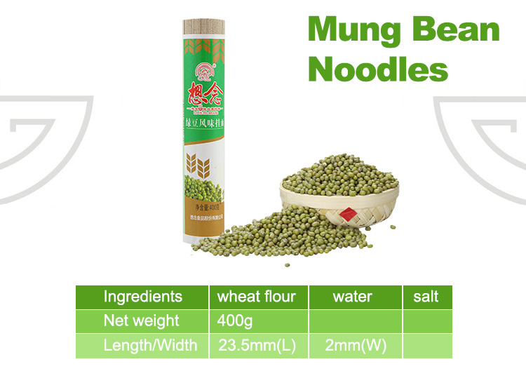 Xiang Nian Brand Wholesale Instant Dried Noodles 400g Mung Bean Noodle