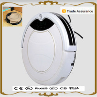 2016 new designs white 2000mA Top-grade industrial robotic cleaning vacuum robot vacuum and mop