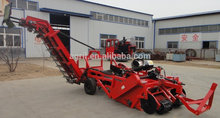 new design top quality hydraulic tractor PTO use automatic two rows Potato combine harvester digger with CE certification