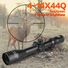 hunting gun rifle canislatrans 4-14x44 riflescope optics mil dot reticle rifle scope outdoor equipment shockproof tactical sight