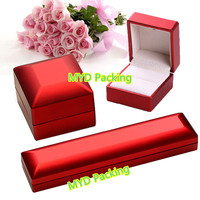 Painting led light jewelry box