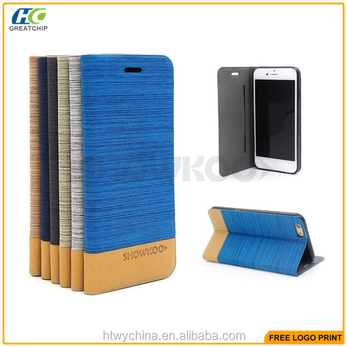 Jeans/Cowboy Leather Cases with cards slots For iPhone 6s ,stand flip pu leather cases for iPhone 6s