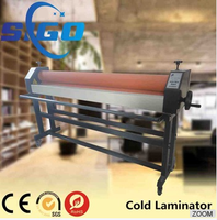 SIGO laminating film machine manual cold laminator