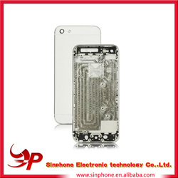 Replacement parts for iphone 5 back cover housing alibaba mobile phone original spare parts