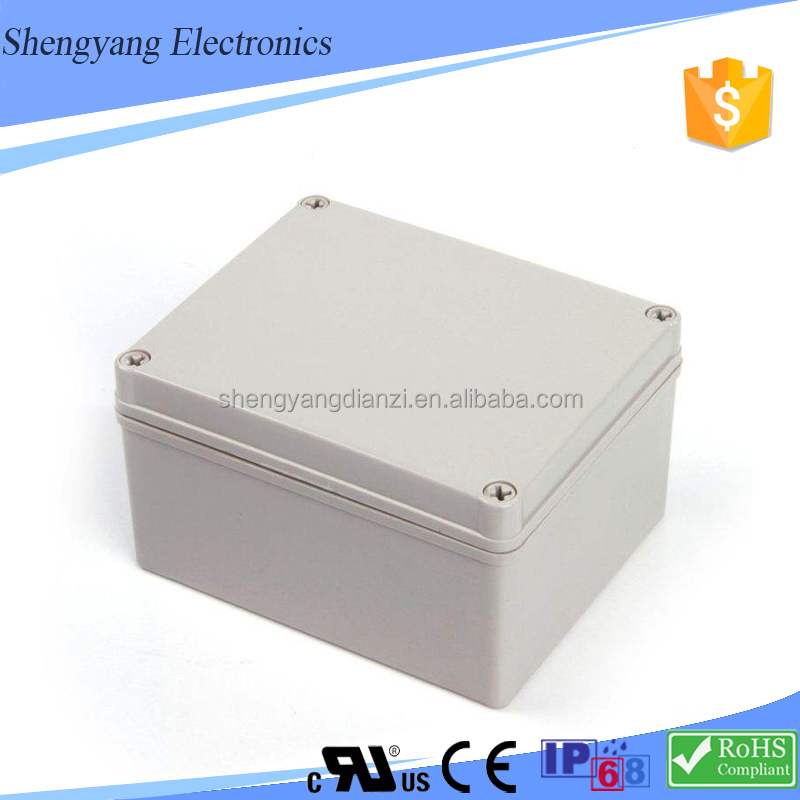 190*280*180mm IP68 PVC Waterproof Pancake Material Electrical Junction Box Price Made in China