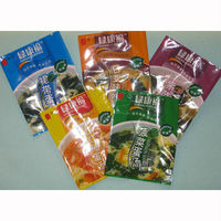good quantity printing food packaging bag flat opp pouches