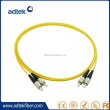 Excellent Performance Yellow Fiber Optic Cords Perfect For Gigabit Ethernet FC for Sale
