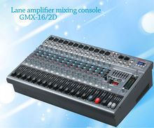 Lane the latest Amplifier mixer broadcast mixing console GMX-16/2D 16 channels professional with USB SD MP3 avaiaudio dj mixer