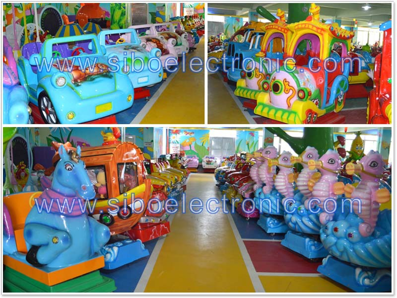 GM5814 kiddie playground indoor amusement park rides kiddie train for sale
