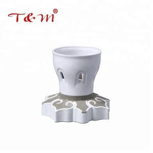 Excellent product double use ABS shell decorative ring lamp holder