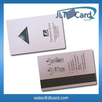 13.56MHZ NFC RFID hotel magnetic key card