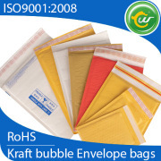 Yellow/Gold Kraft paper bubble mailing bags, whole mailing bags