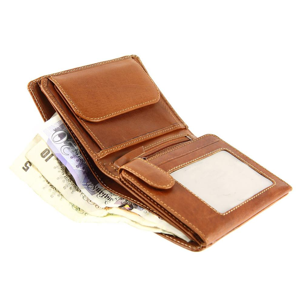 Credit Card Holder Rfid Leather Smart Wallet baellerry wallet for men