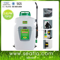 Power Sprayer SEAFLO 12v 16Liter Battery Power Chemical Pressure Sprayer For Agriculture and Garden
