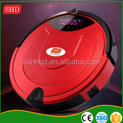 2016 Functional home appliance robotic vacuum cleaner, smart vacuum cleaning robot wholesale