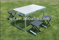 outdoor portable picnic folding table and chairs