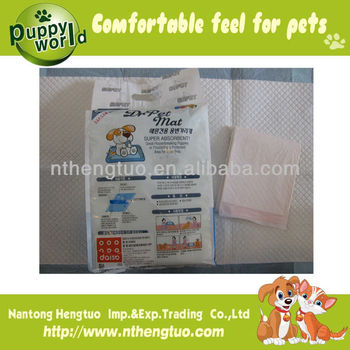 high absorbent waterproof pet pads manufacture