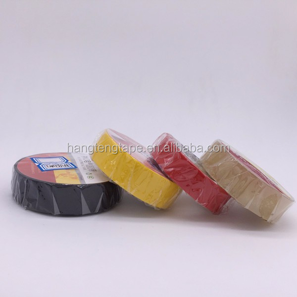 All weather tape Logo printed Rubber Adhesive PVC Insulation tape