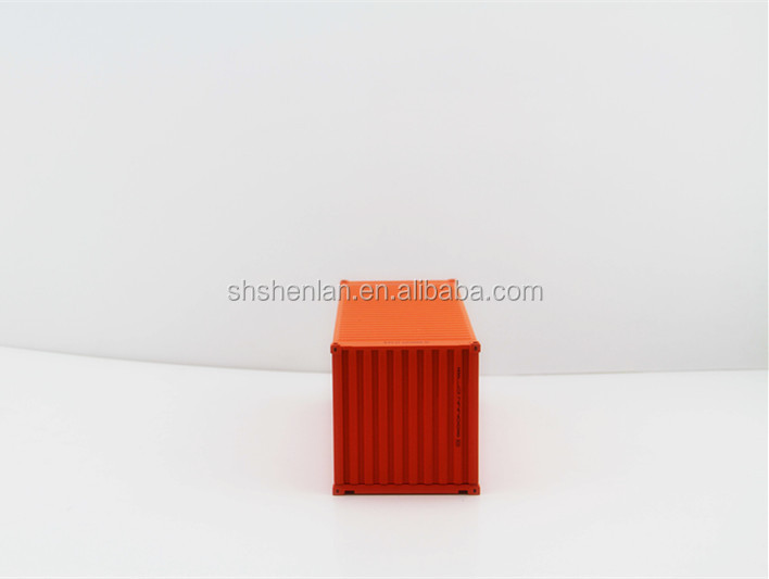 1:30 miniature shipping container scale model