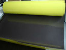 Yellow pieces PVC rubber magnet