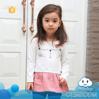 wholesale baby dress causal children clothing infant dresses with pattern