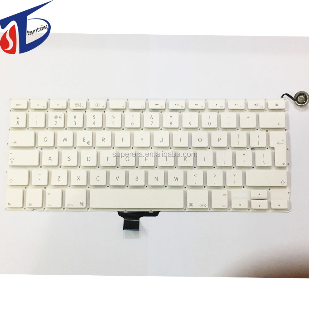 A1342 uk keyboard without backlight backlit for macbook 13.3'' clavier perfect testing
