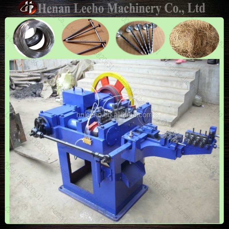 Leeho Used Steel Wire Making Nail Machine