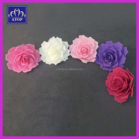 Wholesale Handmade Artificial Giant Foam Rose Flowers With Stem